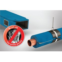 İnsan güvenliği için üretilmiş ilk düşük dumanlı esnek yalıtım malzemesi Armaflex Ultima
