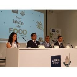 """GROHE Türkiye, """"Suyu Yemeğe Dönüştür"""" sosyal sorumluluk projesini basın toplantısı ile anlattı"""