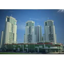 Armacell Yalıtım ürünleri Makedonya, Üsküp Sky City Projesi'nde