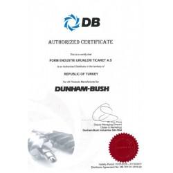 Form Şirketler Grubu, Türkiye ve Ortadoğu bölgesinde Dunham-Bush kompresör revizyonu ve tamir etme yetkisini elinde bulunduran tek firma olma özelliği taşıyor