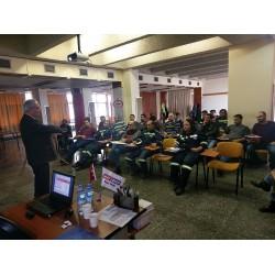 Mas Pompa, İsdemir tesislerinde eğitim çalışmaları sırasında