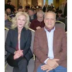 Filiz Mumoğlu ve Prof. Dr. Abdurrahman Kılıç