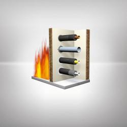 Tek üründe ısı yalıtımı, yoğuşma kontrolü ve yangın yalıtımını bir arada sunar