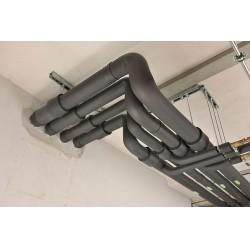 TS EN 13501-2 kapsamında 120 dakikaya kadar yangın dayanımı sağlar.
