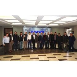 Ayvaz, Kayseri'nin önde gelen fabrikalarının teknik temsilcilerini Hadımköy'deki tesislerinde ağırladı.