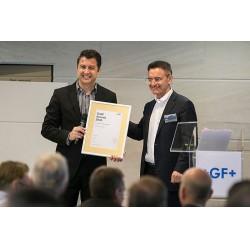 Georg Fischer'den GF Hakan Plastik'e Gold Award ödülü