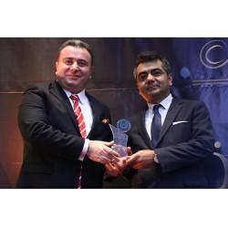 """""""En İyi Sanayici"""" ödülünü Üntes Yönetim Kurulu Başkanı Mehmet Şanal aldı"""