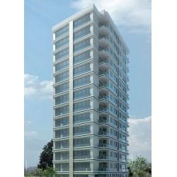 """Fenerbahçe Kalamış'ta, """"Kentsel Dönüşüm Projesi"""" olarak inşa edilen Kısmet Apartmanı"""