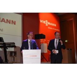 Viessmann A.Ş. Genel Müdürü Dr. Celalettin Çelik açılış konuşmasında