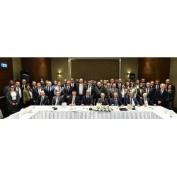 İZODER'in Olağan Seçimli Genel Kurul Toplantısı, 13 Nisan Perşembe günü Sheraton Otel Ataşehir'de yapıldı.