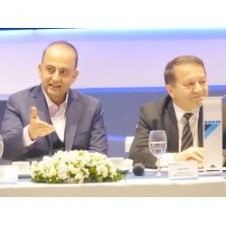 """Daikin CEO'su Hasan Önder: """"Soğutmada bir devrim yaşanıyor"""" ve Daikin Türkiye Genel Müdür Yardımcısı Zeki Özen: """"İhraç edilen ürün çeşidi artırılacak""""."""