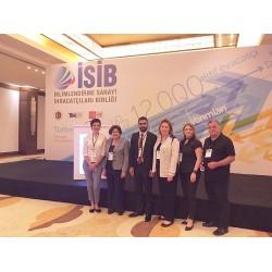 Soldan sağa;Neslihan Özman Say,  Prof. Dr. Nilüfer Eğrican,Alişan Gönül ve Fatma Akım, Süleyman Akım