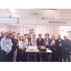 Yıldız Teknik Üniversitesi Makine Fakültesi ekibi SOLARDECATHLON standını ziyaret etti.