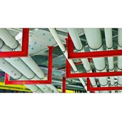 Tesisat açısından sessiz bir bina uygulaması yapılabilmesi için ses yalıtımını üst seviyede sağlayan boru sistemleri tercih edilmelidir.