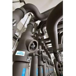 Bu yeraltı tesisinde soğutma tesisatları (10/17°C) ve soğuk hatlarda (-1/+4°C) halojen içermediği için yangın esnasında ortama yaydığı duman da korozif ve toksik etki yaratmayan NH/Armaflex ürünü tercih edilmiştir.