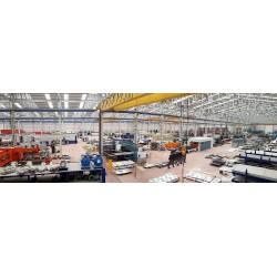 LUFTSİS Klima Sistemleri San. ve Tic. A.Ş. Bandırma fabrikası 5.000 metrekare imalat holü