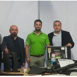 Soldan sağa; Armacell Yalıtım İç Anadolu Bölge Yöneticisi Doğu Çamur, Armacell EMEA Uygulama Uzmanı Andreas Papaleontiou ve Armacell Yalıtım Teknik Pazarlama Müdürü Hakan Nayır