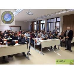 Armacell Yalıtım Teknik Pazarlama Müdürü Hakan Nayır, YTÜ Makina Fakültesi Öğrencilerine eğitim verdi