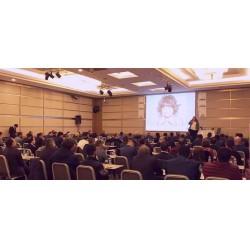 Ankara Toplantısında, Ferroli Türkiye Genel Müdürü Elçin Tunçer, Ferroli Grubu' nun en hızlı büyüyen ve en büyük pazar payına sahip şirketi Ferroli Türkiye olduğuna dikkat çekti