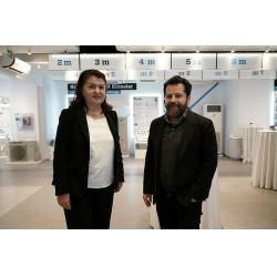 Daikin Türkiye Genel Müdür Yardımcısı Neslihan Yeşilyurt ve Nef CEO'su Erden Timur