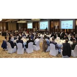 Form Şirketler Grubu İcra Kurulu Başkanı Tunç Korun davetlilere yönelik sunumunu gerçekleştirdi