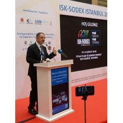 ISK-SODEX, Çevre ve Şehircilik Bakanı Mehmet Özhaseki'nin katılımıyla kapılarını açtı.