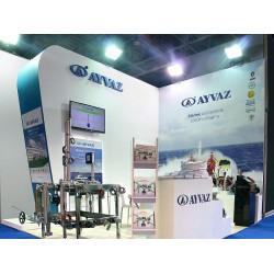 Ayvaz, CNR Avrasya Boat Show'da marin sektöründe kullanılan ürünlerini tanıttı