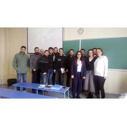 Eskişehir Osmangazi Üniversitesi Makine Mühendisliği öğrencileri