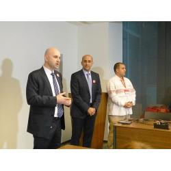 Danfoss Türkiye Genel Müdürü Emre Gören ve Danfoss Türkiye, Orta Doğu ve Afrika (TMA) Bölge Başkanı Ziad Al Bawaliz