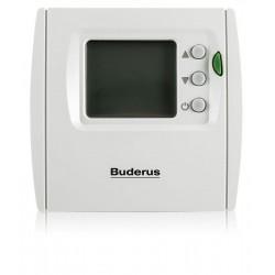 Buderus, doğalgaz ve enerji tasarrufu sağlayan oda kumandası kullanımı öneriyor.