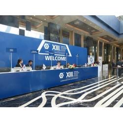 Türk Tesisat Mühendisleri Derneği'nin düzenlediği 13. Uluslararası Yapıda Tesisat Teknolojisi Sempozyumu Giriş Salonu
