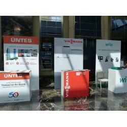 Gümüş Sponsorlar; ÜNTES, VIESSMANN, WILO