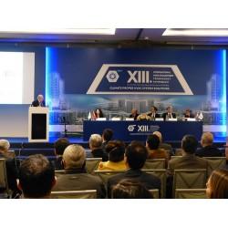 TTMD 13. Uluslararası Yapıda Tesisat Teknolojisi Sempozyumu oturumlarından bir görsel