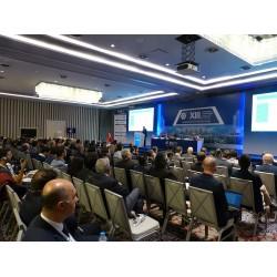Türk Tesisat Mühendisleri Derneği'nin düzenlediği 13. Uluslararası Yapıda Tesisat Teknolojisi Sempozyumu Salon