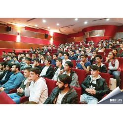 Marmara Üniversitesi Öğrencileri BOREAS Semineri'nde