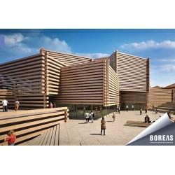 OMM - Odunpazarı Modern Müze projesinde BOREAS'ın yüksek enerji verimliliğine sahip klima santralleri tercih edildi.