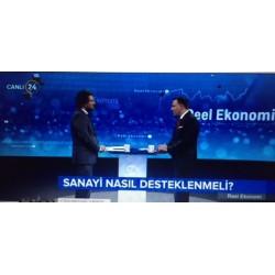 Kanal 24 Televizyonu, Sadi Özdemir yönetimindeki Reel Ekonomi canlı programında Aldağ A.Ş. İcra Kurulu Başkanı Rebii Dağoğlu