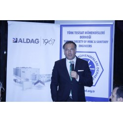 TTMD 2018 Çalıştayına destek veren Aldağ Firması adına İcra Kurulu Başkanı Rebii Dağoğlu