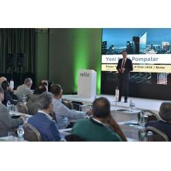 Bursa Crowne Plaza'da yapılan seminerde, Wilo'nun yeni ürünleri Stratos Maxo ve Rexa Solid Q'nun özellikleri paylaşıldı.