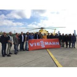 Viessmann İzmir bölge bayileri helikopter gezisinde