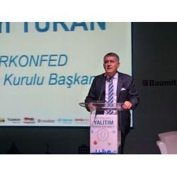 TÜRKONFED Yönetim Kurulu Başkanı Orhan Turan