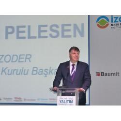 İZODER Yönetim Kurulu Başkanı Levent Pelesen
