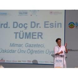 Mimar, Gazeteci, Üsküdar Üniversitesi Öğretim Üyesi Yrd. Doç. Dr. Esin Tümer