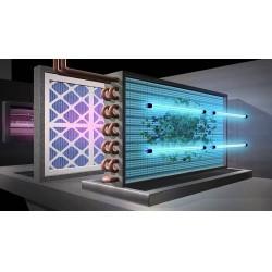 Steril-Aire'in tasarladığı Ultraviole ışın yayıcılar, güçlendirilen veya yenilenen HVAC sistemleri için kusursuz çözümlerdir.