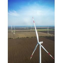 GÜRİŞ'in Ukrayna'daki ilk yatırımı olan OVID Rüzgar Enerji Santrali, yılda toplam 118.000.000 kWs elektrik üretecek