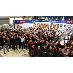Bosch Termoteknik'in Manisa Fabrikası, 2018 yılında 888.888 kombi üretim adedi ile tarihinin en yüksek kombi üretimini gerçekleştirdi.