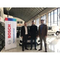 Bosch Termoteknik, Fortes Mühendislik Doğalgaz firmasına 07 Ocak 2019 tarihinde İstanbul'da düzenlenen ödül töreniyle hediyesini teslim etti.