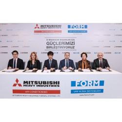 Soldan Sağa: Ryoichi Kariya, Özden Korun, Nobuaki Suzuki, Tunç Korun, Figen Korun, Mehmet Oral