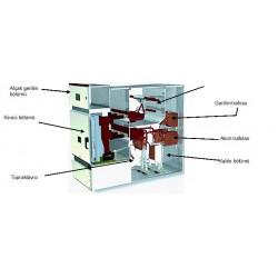 Şekil 1: AIS Hücrenin bölümlendirilmesi ve ekipmanları