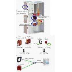 Şekil 6: AIS panolarda akım-gerilim senörlerinin kullanılması